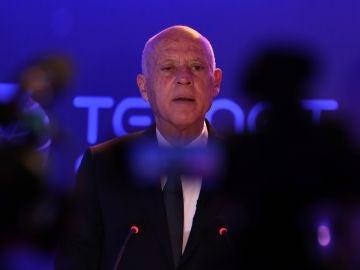 Kais Said, presidente de Túnez