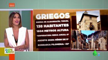 Este es el pueblo con las temperaturas más frías de España durante el verano