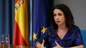La secretaria de Estado de Sanidad, Silvia Calzón