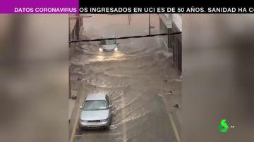 Un inusual temporal deja lluvias torrenciales e inundaciones en diversos puntos de Murcia y la Comunidad Valenciana