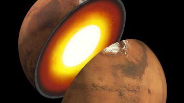 Estructura interna de Marte