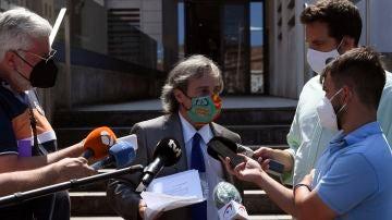 Germán-Ramón Inclán Méndez, abogado de los cuatro ciudadanos portugueses presuntamente implicados en un caso de violación