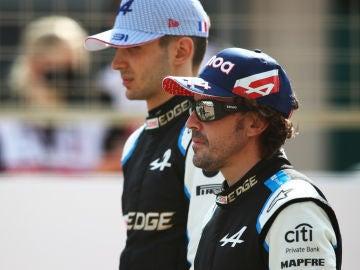"""Alpine cree que Esteban Ocon es """"el número 2 perfecto"""" para Fernando Alonso, aunque no le ve campeón"""
