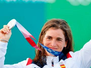 Maialen Chourraut conquista la medalla de plata en el K-1 de aguas bravas