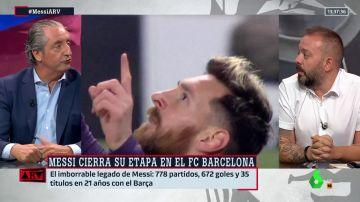 Pedrerol y Antonio Maestre, cara a cara: ¿es LaLiga un fútbol de ricos y pobres?