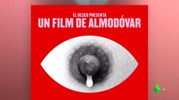 """El comentado póster de la nueva película de Pedro Almodóvar: """"Van a tener que hacer la versión censurada para Instagram"""""""