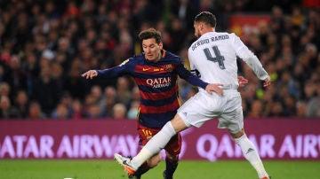 Leo Messi y Sergio Ramos