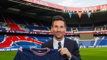 Presentación de Leo Messi como nuevo jugador del PSG, en directo