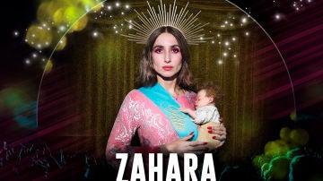 Cartel promocional del concierto de Zahara en Toledo