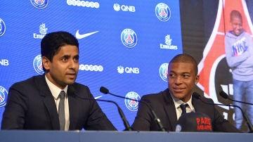 """Al Khelaifi se quiere quedar a Mbappé: """"Ha dicho que quiere un equipo competitivo, lo tiene, no hay más excusa"""""""