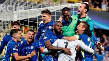 El Chelsea celebra su victoria