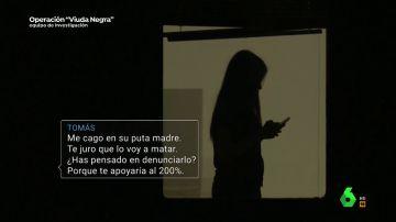 """Los mensajes de Maje con uno de sus amantes antes del asesinato de Antonio Navarro: """"He pensado en acabar con su vida"""""""
