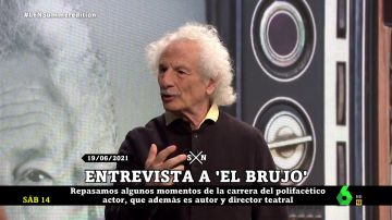 Así hablaba de Pablo Iglesias Rafael Álvarez, El Brujo, en laSexta Noche