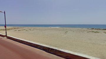 Inmediaciones de la playa de Carchuna.