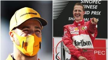 Daniel Ricciardo & Michael Schumacher