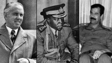 Enver Hoxha, Idi Amin y Sadam Huseín