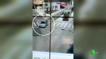 El vídeo del conductor octogenario instantes previos al atropello múltiple en Ponferrada