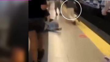 Salvaje agresión de 15 personas con armas blancas a un joven en el Metro de Madrid