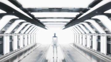 Imagen del prototipo del robot humanoide en el que trabaja la compañía de Elon Musk.