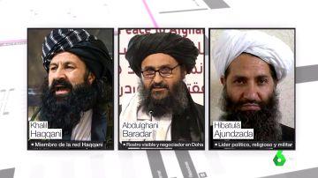 Quién es quién en el nuevo Afganistán: estos son los líderes talibanes que negocian el nuevo gobierno
