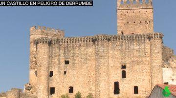 El Castillo de Belvís de Monroy, en peligro de derrumbe.