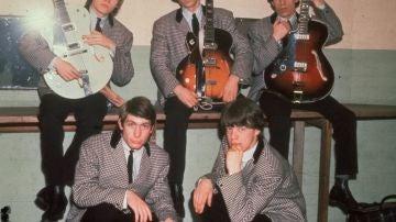 Charlie Watts con Los Rolling Stone en los 60