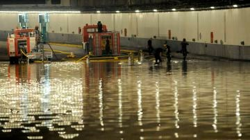 La DANA complica la hora punta en Madrid con inundaciones en el metro, cortes en el Cercanías y atascos en algunas carreteras