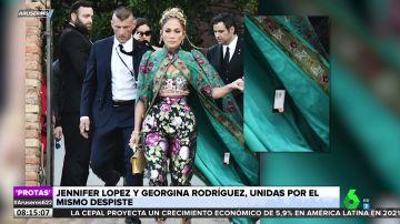 El despiste de Jennifer López que acaparó todas las miradas en el desfile de Dolce & Gabbana en Venecia