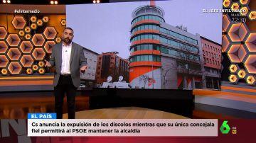 """Dani Mateo analiza a Ciudadanos, """"el pupas de España"""""""