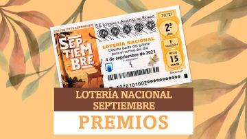 Premios de Lotería Nacional de Septiembre: ¿cuánto dinero puedo ganar?