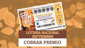 ¿Dónde puedo cobrar mi premio de Lotería Nacional de Septiembre?