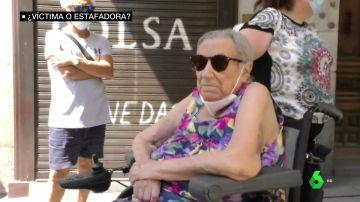 La anciana que denunció la okupación