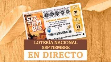 Lotería Nacional de Septiembre, hoy | Comprobar sorteo extraordinario del sábado 4, en directo