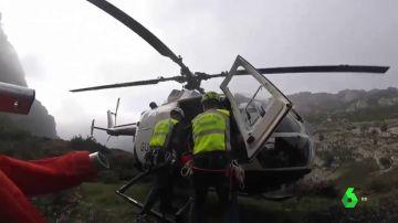 A más de 3.000 metros o haciendo rappel: así han sido los últimos siete rescates extremos en las montañas de Pirineos