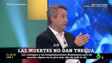 Cesar Carballo explica las razones del alto número de muertes por COVID a pesar de la vacunación