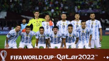 El once de Argentina ante Venezuela