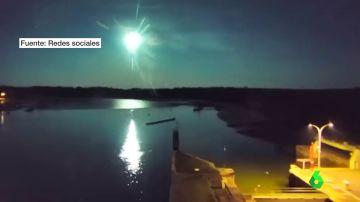 meteorito luminoso