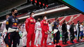 Parrilla F1 2021