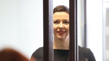 La opositora rusa Maria Kolesnikova