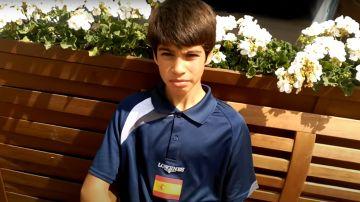 Entrevista a Carlos Alcaraz con 12 años