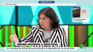 """La contundente respuesta de Lucía Méndez al tuit machista de un concejal de Junts sobre Anna Grau: """"Este tío es un imbécil"""""""