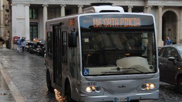 Imagen de archivo de un autobús en Italia