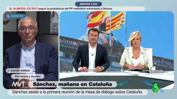 """Sardà, sobre el plantón de Aragonès a Junts: """"Jordi Sànchez tiene el cuajo de decir que les ha vetado Moncloa"""""""