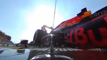 """El accidente entre Lewis Hamilton y Max Verstappen, visto desde un nuevo ángulo """"dramático"""""""