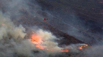 El incendio de Sierra Bermeja, Málaga
