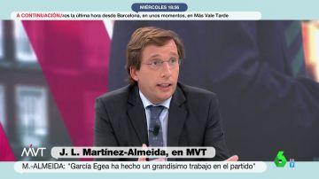 """Almeida se niega a confirmar si se presentará a las primarias del PP madrileño: """"No quiero avivar un debate"""""""
