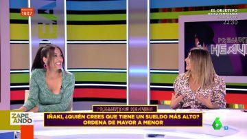 La sorpresa de Valeria Ros en directo al hablar de dinero con sus compañeros