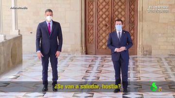 """""""Hostia, ¿se van a saludar ya?"""": lo que no se ha visto de la mesa de diálogo entre el Gobierno y la Generalitat"""