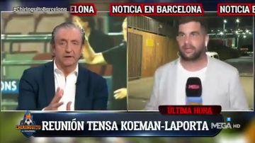 """Koeman, ¿en peligro?: """"Ha habido una reunión muy tensa con Laporta tras el partido"""""""