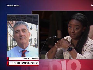 Guillermo Fesser Simone Biles